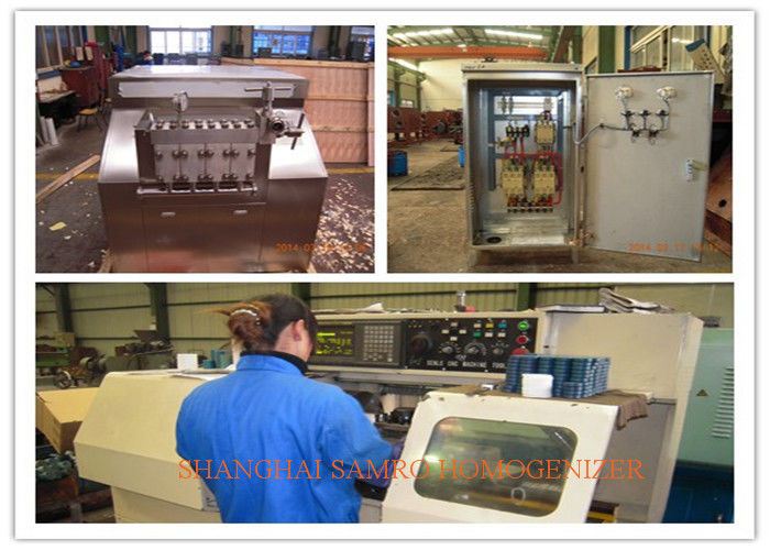 Milk Processing Types SUS304 stainless steel Liquid Homogenizer industrial homogenizer
