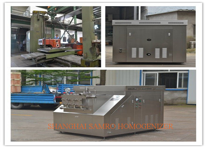 Industrial New Condition Processing Line Type Chemical Homogenizer Machine 4000 L/H 400 bar